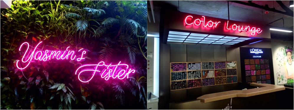 cam neon yazı imalatı
