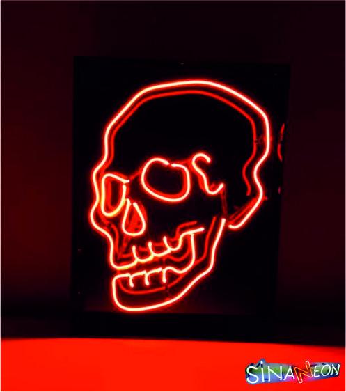 kuru kafa neon aydınlatma