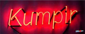 kumpir neon yazı