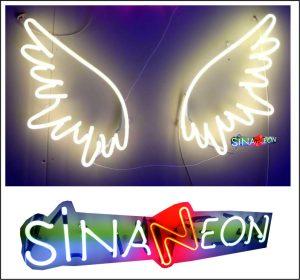 Melek Kanadı Neon Sign