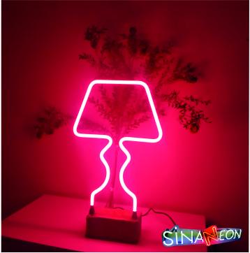 neon abajur cam neon