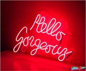 cam neon hello gorgeous yaz