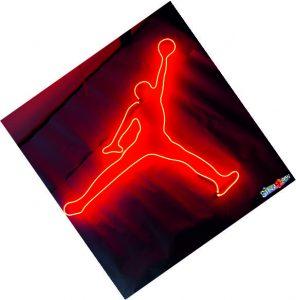 jordan neon sign
